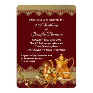 Festive Holiday Birthday Card
