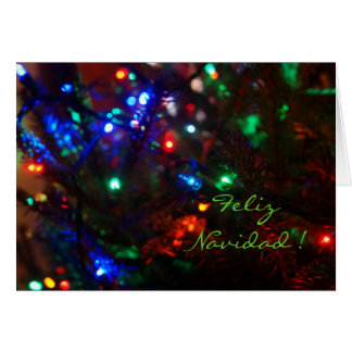 Festive Holiday Greetings Card
