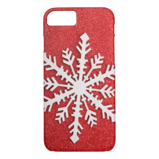 Festive Holiday Snow iPhone 7 Case