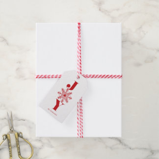 Festive Joy Personalized Holiday Gift Tags
