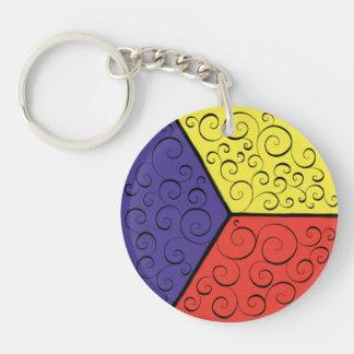 Festive keychain