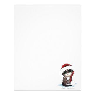 Festive Kitten Christmas Letterhead