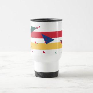 """""""Festive Leaves"""" travel mug"""