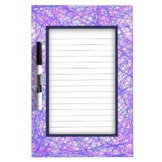 Festive Lines Dry Erase Board