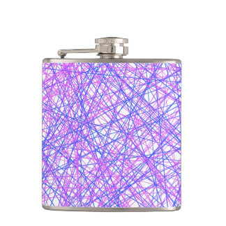 Festive Lines Hip Flask