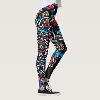 Festive Mandala Leggings