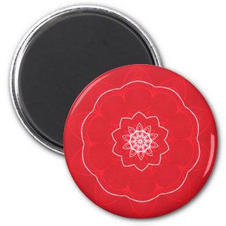 festive mandala magnet