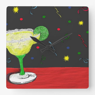 Festive Margarita Wall Clock