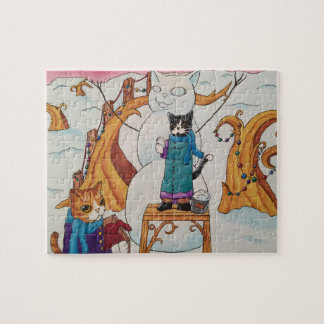 Festive Morning Jigsaw Puzzle