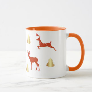 Festive Mug Winter Holidays