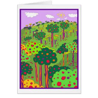 Festive Orchard Card