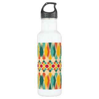 Festive pattern 710 ml water bottle