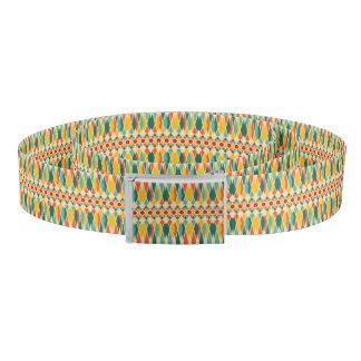 Festive pattern belt