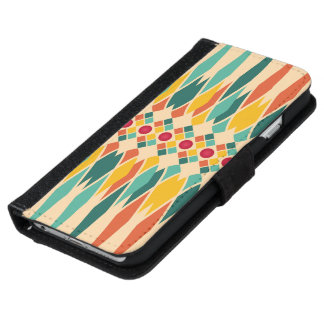 Festive pattern iPhone 6 wallet case