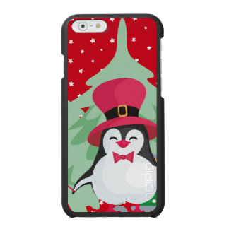Festive Penguin with Sleigh Incipio Watson™ iPhone 6 Wallet Case