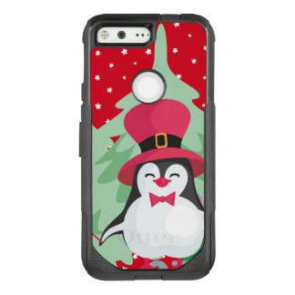 Festive Penguin with Sleigh OtterBox Commuter Google Pixel Case