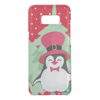 Festive Penguin with Sleigh - Red Uncommon Samsung Galaxy S8 Plus Case