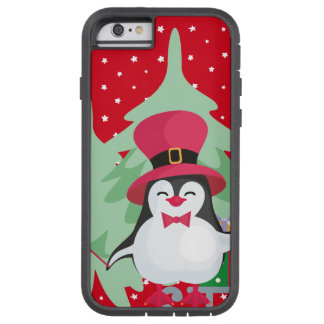 Festive Penguin with Sleigh Tough Xtreme iPhone 6 Case
