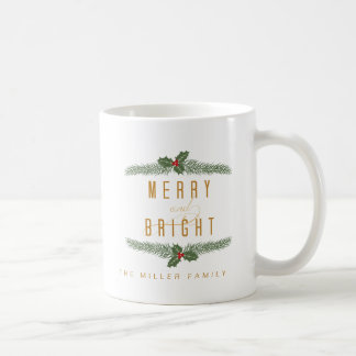 Festive, Pine and Berries Coffee Mug