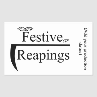 Festive Reapings Sticker