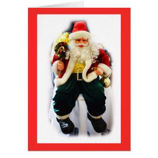 Festive Santa Card