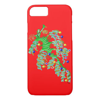 Festive Sea Dragon iPhone 7 Case