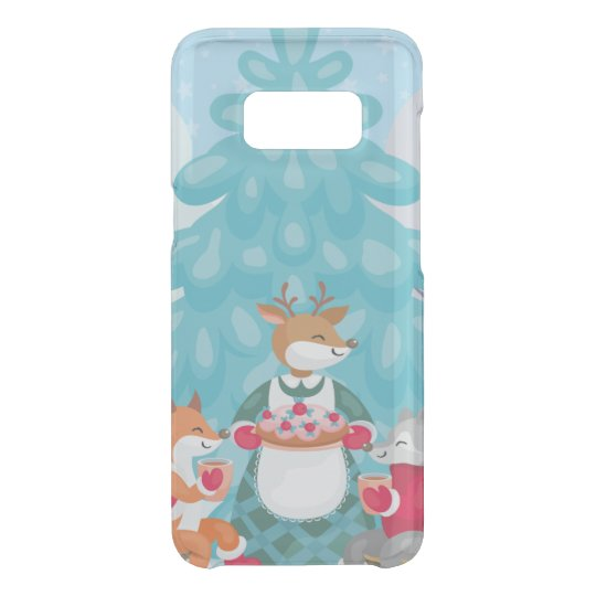festive snow creatures uncommon samsung galaxy s8 case