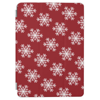Festive Snowflake Red & White
