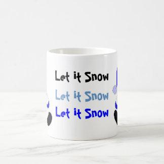 Festive Snowmen Coffee Mug