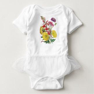 Festive Sring Floral Gifts Baby Bodysuit