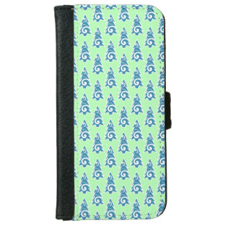 Festive Tender Christmas Trees iPhone 6 Wallet Case