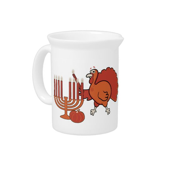 Festive 'Thanksgivukkah' Drink Pitchers