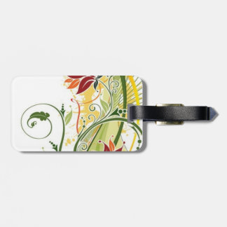 Festive Travel Luggage Tag