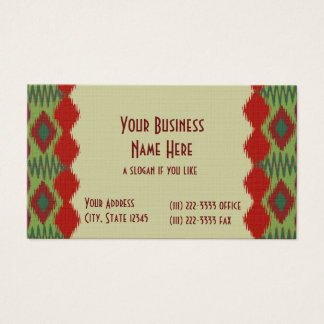 Festive Weave/ Southwest Business Card