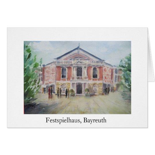 Festspielhaus, Bayreuth Card