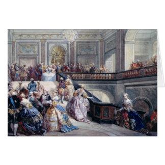 Fete at the Chateau de Versailles Card
