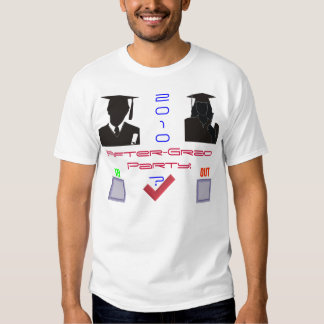 Fête de remise des diplômes 2010 RSVP T-shirt