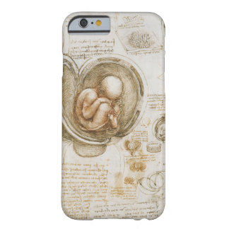 Fetus Drawing by Leonardo Da Vinci Barely There iPhone 6 Case