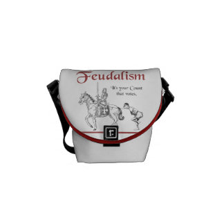 Feudalism - It's your Count that votes Commuter Bag
