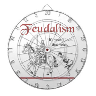 Feudalism - It's your Count that votes Dartboard