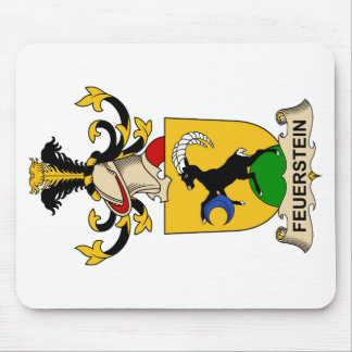 Feuerstein Family Crest Mouse Pad