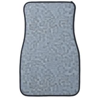 Feuille de saphir tapis de sol