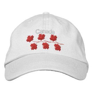 Feuille d'érable Canada Casquettes Brodées