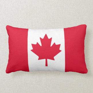 Feuille d'érable canadienne de drapeau Canada Coussin Décoratif