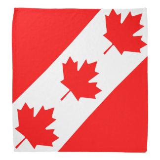 Feuille d'érable canadienne de jour du bandana  