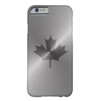 Feuille d'érable de platine du Canada Coque Barely There iPhone 6