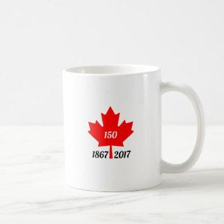 Feuille d'érable du Canada 150 en 2017 Mug