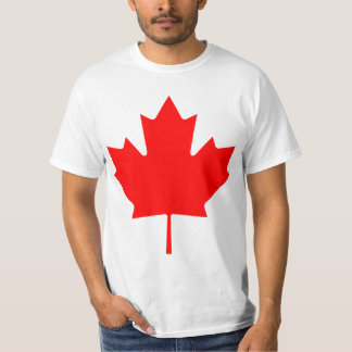 Feuille d'érable du Canada T-shirts