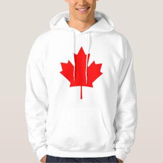 Feuille d'érable du Canada Veste À Capuche