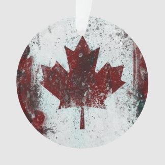 Feuille d'érable personnalisée du Canada